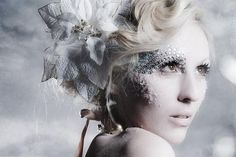 Snow Queen - use a few sequin stickers