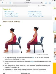 Pelvic Rocking Supine Pt Exercises Spinal Fusion Recovery
