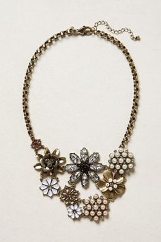 Blossomed Collage Necklace from Anthropologie #poachit