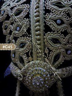 c2268127c الإبرة الذهبية | فخامة الأميرات في قفطان مغربي بالتنبات و الطرز بالقطان  السعودي Moroccan Caftan