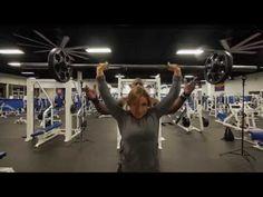 Mike Rashid trains Shoulders with Roxy Bohdan