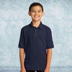 Port & Company Youth 5-5-Ounce Jersey Knit Polo-KP55Y