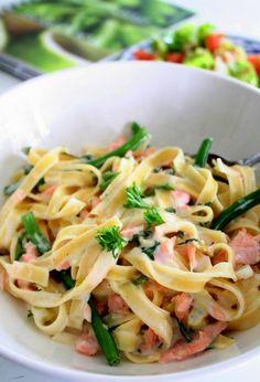 Quick Salmon Pasta