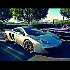 cool McLaren MP4-12C...  The need for speed