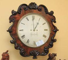 ~ 19th c. Wall Clock ~ antiques-atlas.com