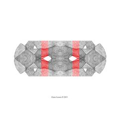 Tribale-Dessin hybride crayon graphite et numérique-drawing Onira Lussier