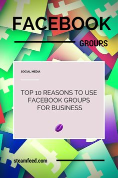 10 Reasons To Use Facebook Groups For Business -- Many business owners still think that it's a matter of Facebook Groups vs. Facebook Pages.  But that really is not the case.  We should be thinking: Facebook Groups AND Facebook Pages. Facebook Groups can be your Facebook Page's most friendly companion! http://www.steamfeed.com/10-reasons-use-facebook-groups-business/  #Facebook #FacebookTips #FacebookMarketing #socialmediatips #biztips