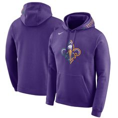 Men s Nike Purple New Orleans Pelicans City Edition Club Fleece Pullover  Hoodie. Charlotte Hornets ... 48f863eeb