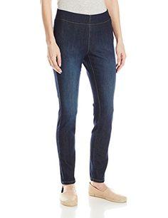 Women's Petite Poppy Pull On Ankle Skinny Jeans