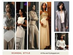 Spring 2013 Fashion Looks from Oliva Pope from Scandal ~ I my favorite TV sitcom.