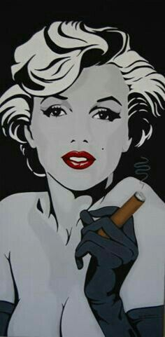 monroe with cigar custom painting original x eclectic cool Marilyn Monroe with a Cigar Pop ArtMarilyn Monroe with a Cigar Pop Art Arte Marilyn Monroe, Marilyn Monroe Wallpaper, Marilyn Monroe And Audrey Hepburn, Marilyn Monroe Drawing, Double Exposition, Arte Pop, Pin Up, Laser Tag, Women Smoking Cigars