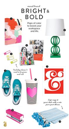 9 pops of color we want for our home and office.