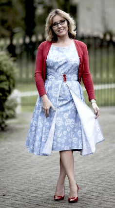 Butterick Vintage Walk Away dress as featured on the BBC Sewing Bee