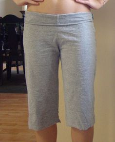 Yoga pants from a mens t-shirt