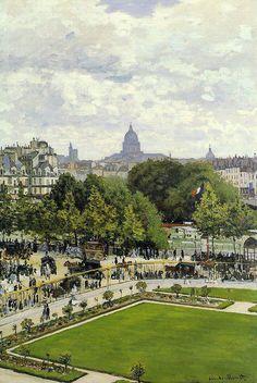 Le Jardin de l'infante (C Monet - W 85)