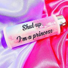 Shut up I'm a Princess Kawaii Bic Lighter by MyBubblegumFantasy