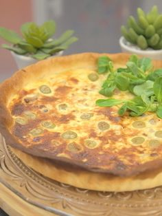 Quiche au thon et aux olives vertes