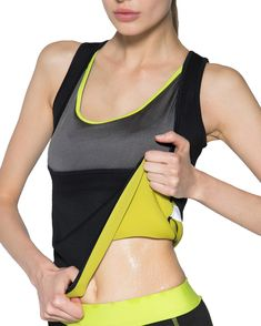 Sports & Entertainment Sports Clothing Women Hot Shapers Sauna Sweat Running Shirt Slimming Thermo Push Up Vest Sexy U-neck Yoga Shirts Half Sleeve Workout Sportswears Reliable Performance