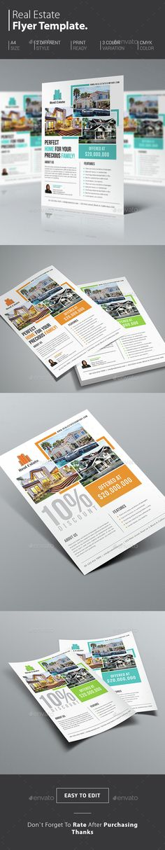 Real Estate Flyer Template PSD. Download here:Check out my website. http://www.mikebolger.ca/