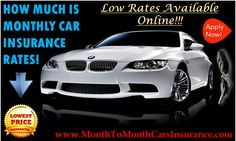 Know How Much Is Monthly Car Insurance Quotes Online - Get All Updates