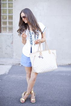 Fashion-Style-Summer-Summer Wear-Target Style-Target-Louis Vuitton-Photography-OOTD-Outfit Ideas-Outfit Inspirations-Hair-Makeup-Fashion Blogger