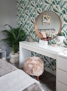 MALM dressing table white 120 x 41 cm - dressing table . MALM Schminktisch Weiß 120 x 41 cm – Schminktisch MALM Dressing Table White 120 x 41 cm – Dressing table – Decor Room, Living Room Decor, Bedroom Decor, Bedroom Ideas, Bedroom Mirrors, Ikea Bedroom, Wall Decor, Master Bedroom, Bedroom Office