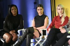 Pin for Later: This Is What Happens When the Stars of Your 2 Favorite Shows Come Together Keke Palmer, Lea Michele, and Emma Roberts