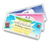 'Birthday Coupons' is one of thousands of American Greetings cards you can personalize, share, and send to your friends and family.
