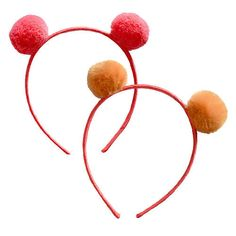 Three cheers for these pom pom headbands! Recommended for ages 3 - 5.
