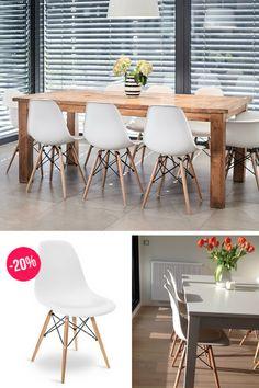 Eames DSW Weiß 20% Discount!   POPfurniture.com