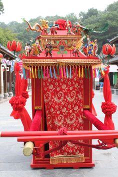 Ancient Chinese Bridal Sedan Chair