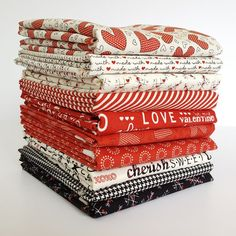 Description: Designed by Sweetwater for Moda, this fat quarter bundle contains 10 18 x 21/22 in fat quarters. Designer: Sweetwater Line: First Crush Manufacturer: Moda Fat Quarter: 10 Material: quilti