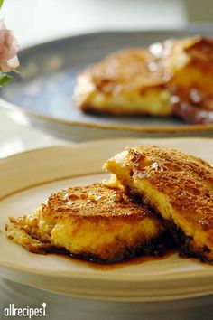 "Creme Brulee French Toast | ""So good, and so easy! I used pancake syrup in place of the corn syrup, because it was on hand, and I left the crust on the bread. Followed the remainder of the recipe as written. This is a keeper!"""