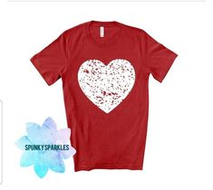 Valentines Day Shirts, Valentines For Kids, Happy Valentines Day, Heart Shirt, Love Shirt, Grunge, Cute Graphic Tees, Retro, Screen Printing