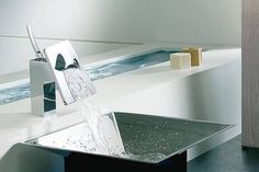 Technology and style for bathroom water faucets