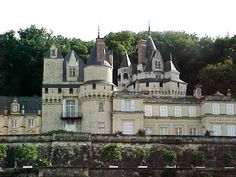 Chateau d'Usse, France