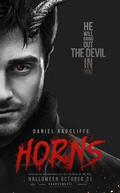 Nieuwe poster Horns zonder Daniel Radcliffe films