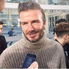 Spotted: David Beckham at Louis Vuitton's men's show in Paris. : @thealexbadia  via WOMEN'S WEAR DAILY MAGAZINE OFFICIAL INSTAGRAM - Celebrity  Fashion  Haute Couture  Advertising  Culture  Beauty  Editorial Photography  Magazine Covers  Supermodels  Runway Models