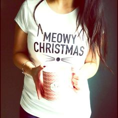 "T&J Designs ""Meowy Christmas"" Tee  - T&J Designs (photo credits belonging to them!) NWT - ︎︎  ︎︎︎  - ⭐️Please ask for an individual listing⭐️ 2 Smalls, 1 Medium, 1 Large, & 1 Extra Large Available - 100% cotton - Made in Honduras & Printed in U.S.A. T&J Designs Tops Tees - Short Sleeve"