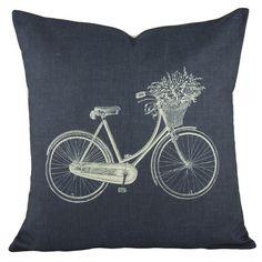 Found it at Joss & Main - Savannah Bicycle Pillow