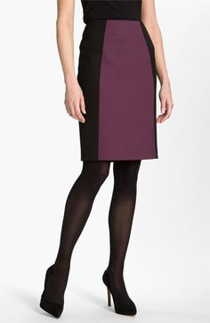 Too cute for work! Halogen® Seamed Pencil Skirt available at #Nordstrom