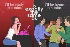 THINK! Mannen, vrouwen, wachten