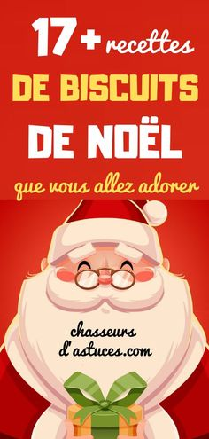 17+ RECETTES DE BISCUITS DE NOËL QUE VOUS ALLEZ ADORER. Xmas Food, Christmas Cooking, Christmas Dinner 2018, Junk Food, Sweet Recipes, Good Food, Food And Drink, Sweets, Snacks