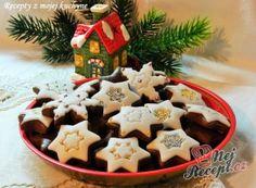 Brabantské dortíčky s marcipánem November 2019, Gingerbread Cookies, Creme, Waffles, Baking, Breakfast, Christmas, Food, Biscuits