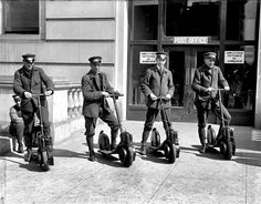 Mailmen On Scooters You are looking at an old image ofMailmen On Scooters. It was taken between 1911 and 1917 by Harris & Ewing. The photo illustrates Post Office. Postmen On Scooters Old Images, Old Pictures, Old Photos, Foto Picture, Photo Restoration, Historical Pictures, Vintage Photography, American History, Old Things