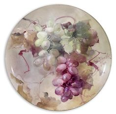 Franz Bischoff - Plate with green and purple... on MutualArt.com