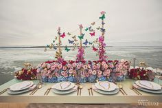 WedLuxe – Surreal Romance | Photography By Dave Abreu Photography Follow @WedLuxe for more wedding inspiration!