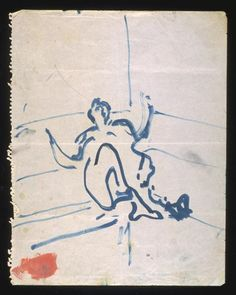 Francis Bacon 'Fallen Figure', c.1957–61 © Estate of Francis Bacon. All Rights Reserved, DACS 2015