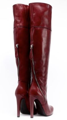 Thigh High Boots Heels, Shoes Heels Boots, Heeled Boots, Bootie Boots, High Heels, Red Boots, Brown Boots, High Leather Boots, Stiletto Shoes