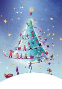 A Christmas Dance card for charity Prostate Cancer Research